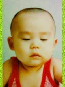 パパの赤ちゃん、子どもの頃