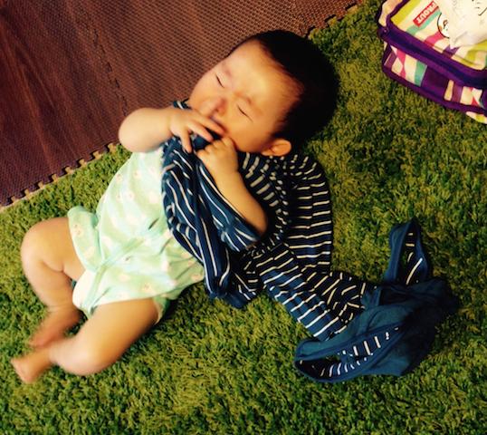 赤ちゃんギャン泣き7ヶ月