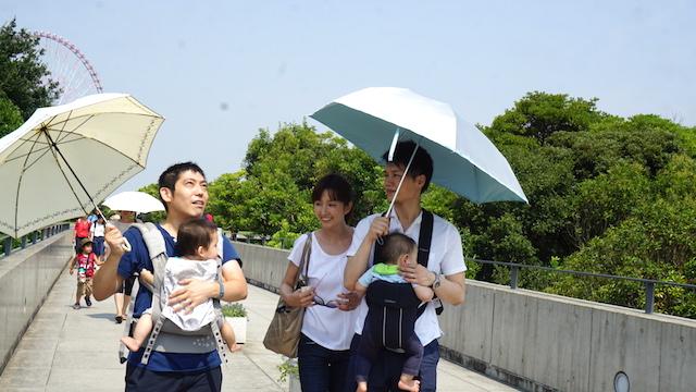葛西臨海水族館,夏,おでかけ,スポット,家族,親子,赤ちゃん連れ