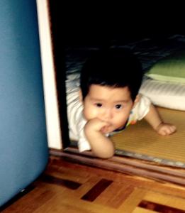 赤ちゃん,後追い,9ヶ月