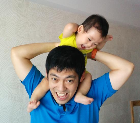 9ヶ月,赤ちゃん,かわいい,高い高い