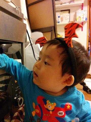 ハロウィン,赤ちゃん,10ヶ月,港区