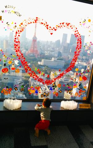 貿易センター,ハロウィン,東京タワー