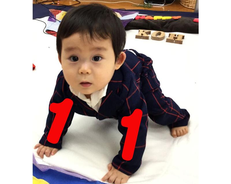 赤ちゃん11ヶ月