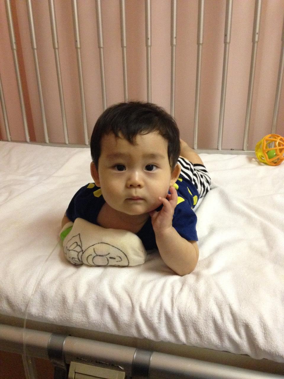 10ヶ月赤ちゃんRSウイルス入院