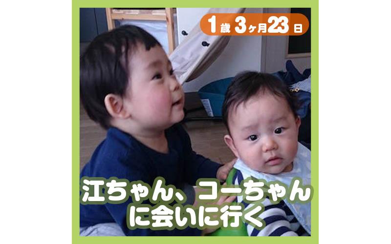 1歳3ヶ月23日t