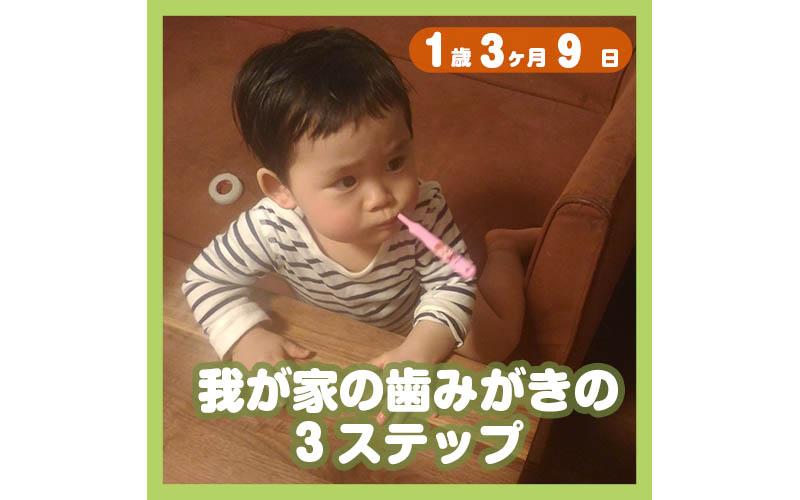 1歳3ヶ月9日t
