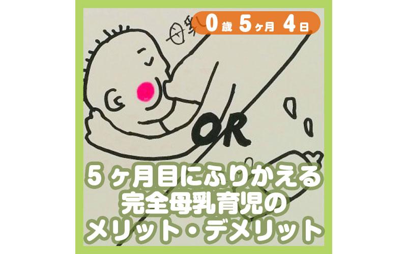 0-05-04_5ヶ月目にふりかえる完全母乳育児のメリット・デメリット_800