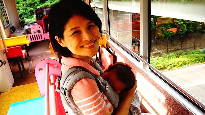 上野動物園,モノレール,赤ちゃん,親子,不忍,西,東