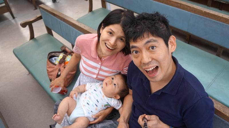 浅草,日の出桟橋,水上バス,赤ちゃん,乳児,6ヶ月,船,東京湾
