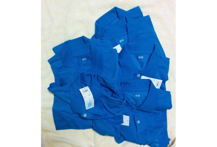 ポロシャツユニクロセール半袖