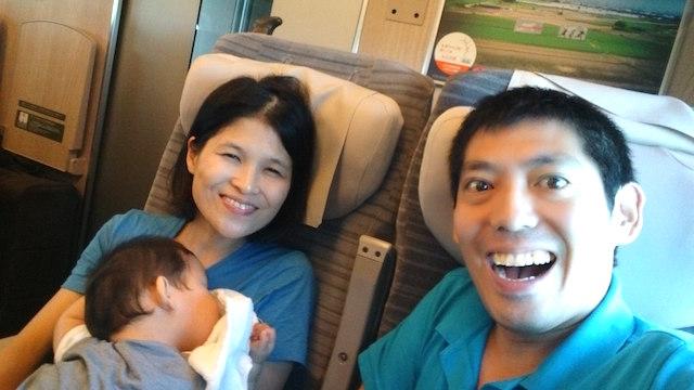 東北新幹線,やまびこ,赤ちゃん連れ,移動,帰省,お盆,8カ月