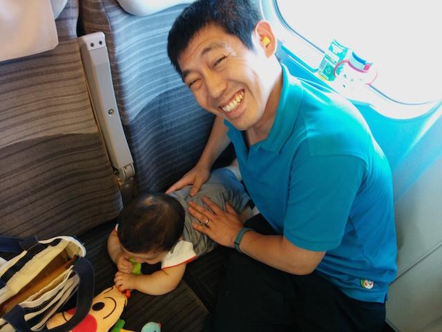 東北新幹線,やまびこ,赤ちゃん,8ヶ月,8か月