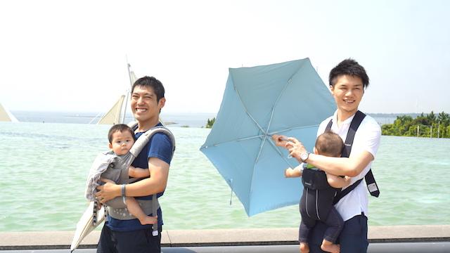 葛西臨海水族館,エルゴ,赤ちゃん,こども