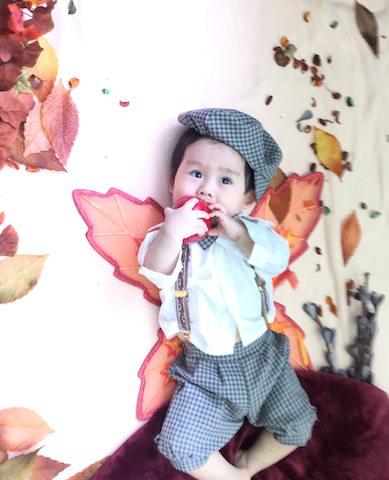 おひるねアート,STORY,赤ちゃん,ねぞう,10ヶ月,1歳