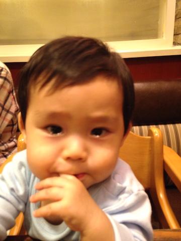 10ヶ月赤ちゃん泣き顔2