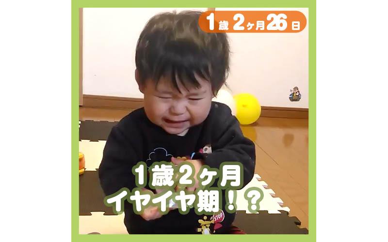1歳2ヶ月26日t