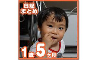 1歳5ヶ月の成長日記